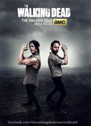 File:Daryl Dixon and Rick Grimes Poster.png
