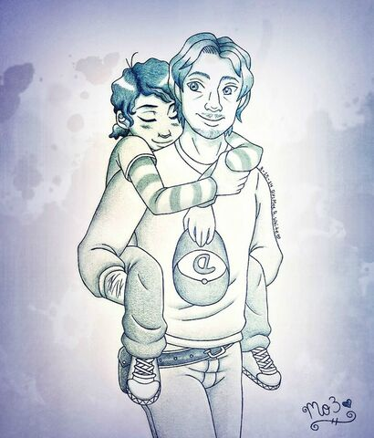 File:Twdg clementine and luke by chachi411-d7adidq.jpg