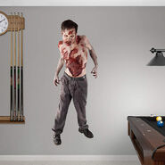 Nursing Home Walker Fathead Wall Decal