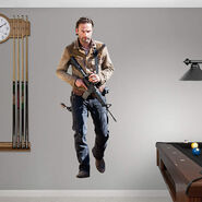 Rick Grimes Fathead Wall Decal