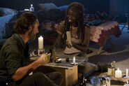 Michonne 7x12 Say Yes Happy