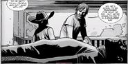 Carl, Rick, Negan