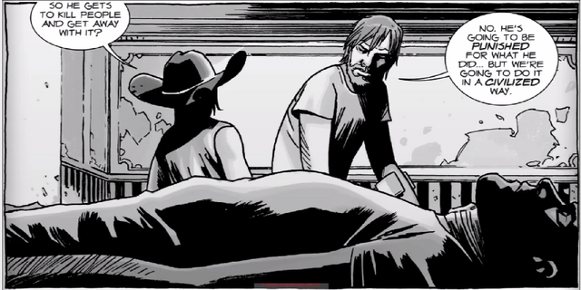 File:Carl, Rick, Negan.PNG
