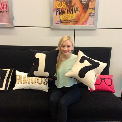 File:Emily Kinney in Seventeenmagazine OMG so cool she's like on tier with Miley Cyrus, 1 Direction, etc♥.jpg