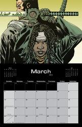 Image Comics March 2013 Calendar