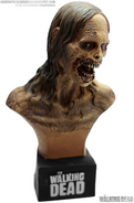 Bicycle Girl Zombie Mini Bust 1