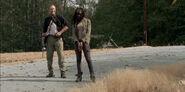 Sorrow Michonne and Merle
