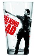 Rick Grimes Drinking Pint Glass