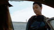 Sasha Williams Explains the Plan 7x14 The Other Side