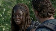 Michonne Say Yes Smiling 7x12