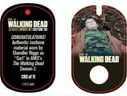 File:The Walking Dead - Dog Tag (Season 2) - Chandler Riggs CR3 (AUTHENTIC WORN COSTUME PIECE).jpg