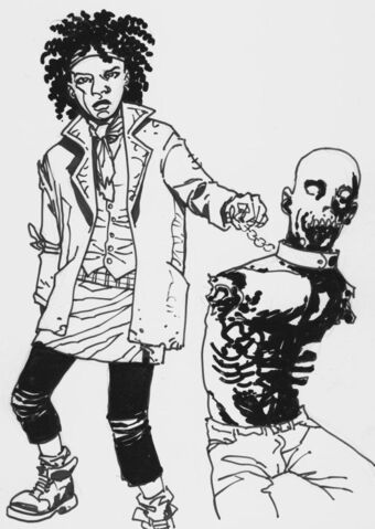 File:Michonne And Zombie, 1.jpg