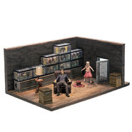 The Walking Dead Construction The Governor and The Fish Tank Room