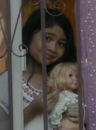 Season one girl with doll