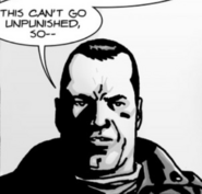 Issue 105 Negan Punish