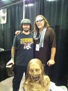 Anthony Rinaldo and Greg Nicotero