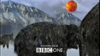 BBC1 Ident - Walking with Beasts