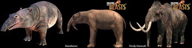 File:Prehistoric proboscideans.jpg