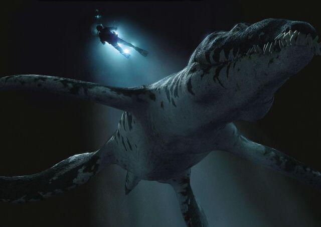 File:Liopleurodon Taucher BBC.jpg