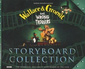 WGWrongTrousersStoryboardCollectionBook