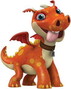 File:Norville the Dragon from Wallykazam!.png