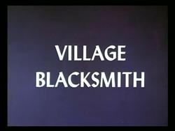 Vilage Blacksmith