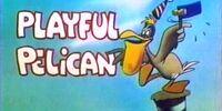Playful Pelican