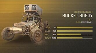 Rocket Buggy Unit Spotlight