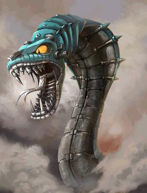 Mecha Serpent (1)