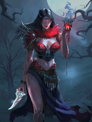 Blood Priestess (3)