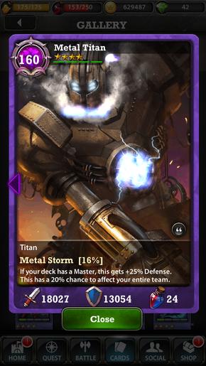 Metal 160