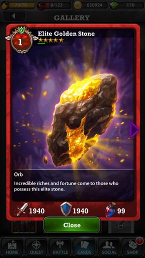 Elite Golden Stone 1