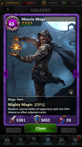 Muscle Mage 40