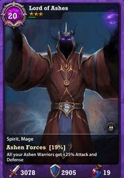 Ashen lord