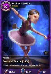 Doll of Destiny First Evolution