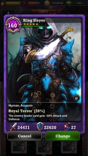 King Slayer 160