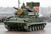 2S6M Tunguska 9K22M tracked self-propelled air defence cannon missile system Russia Russian army 640