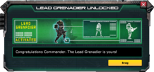 LeadGrenadier-UnlockMessage