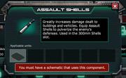 Assault Shells Description - Locked