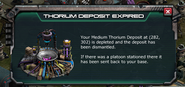 Medium Thorium Expired Message Pop Up