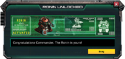 Ronin-UnlockMessage