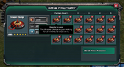 Ready to use Mine Factory Shaped Charge