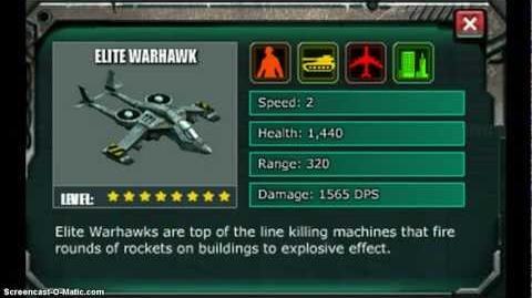 Elite Warhawk - war commander