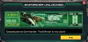 Enforcer unlocked