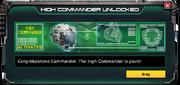 HighCommander-UnlockMessage