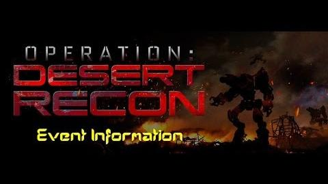War Commander Preview Operation Desert Recon information and Event Base Wave