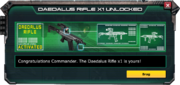 DaedalusRifle-UnlockMessage