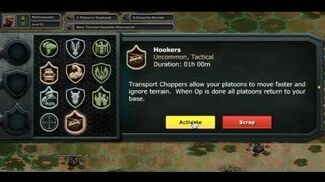 War Commander Hookers Special Ops Surge
