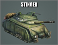Stinger tank
