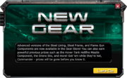 New gear